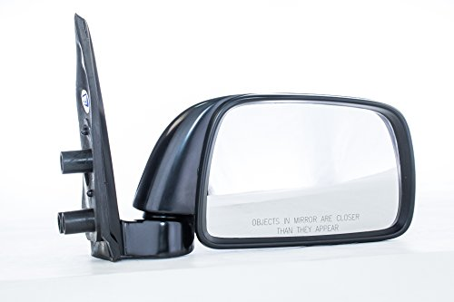 00 Toyota Tacoma Mirror (Dependable Direct Right Passenger Side Black Manual Folding Door Mirror for 95-99 Toyota Tacoma)