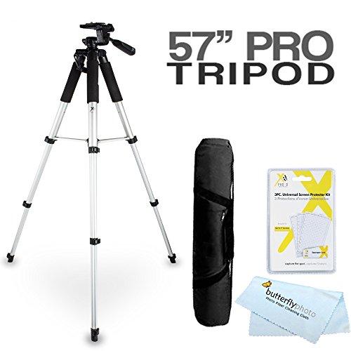 57 Tripod Kit For The Canon SX510 HS, SX520 HS, SX720 HS, S120, SX500 IS, SX280 HS, SX150 IS, SX400 IS, G12, G1 X, G1X, SX50 HS, G15, G16, SX60 HS, G3 X, G1X Mark II, G9 X, G5 X, G7 X, G7 X Mark II D