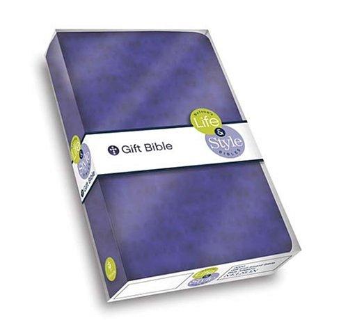 Read Online Life & Style Gift Bible: Purple Polka Squares, NKJV pdf