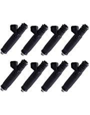 8pcs FI114961 107961 Injectors,ANGLEWIDE 1 Holes Fuel Injectors Sets fit for BMW/for Chevy/for Dodge/for Ford/for Jeep/for Lotus/for Pontiac