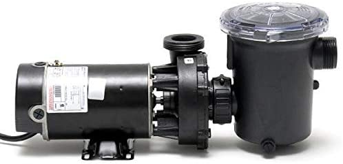 Amazon Com Waterway Plastics Ph1150 6 1 5 Horsepower Hi Flo Above Ground Pool Pump Electric Fan Motors Garden Outdoor