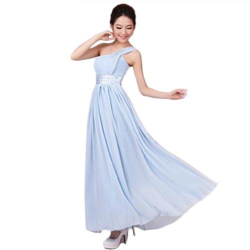 Eyekepper - Vestido - Noche - Sin mangas - para mujer azul celeste