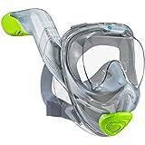adepoy Full Face Snorkel Mask, Snorkeling Mask...