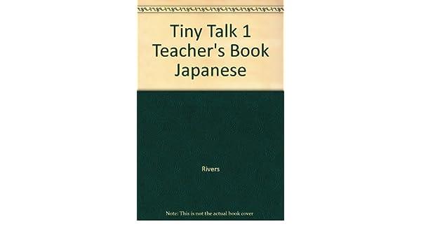 Tiny Talk Teachers Book