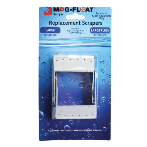 Gulfstream Tropical Aq. Replacement Scraper Blades for Mag-Float 400-2 pk. 790950004011