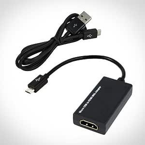 Micro USB a HDMI MHL (Mobile High Definition Link) adaptador – te ...