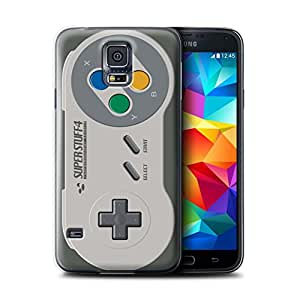 STUFF4 Phone Case / Cover for Samsung Galaxy S5/SV / Super Nintendo Design / Games Console Collection