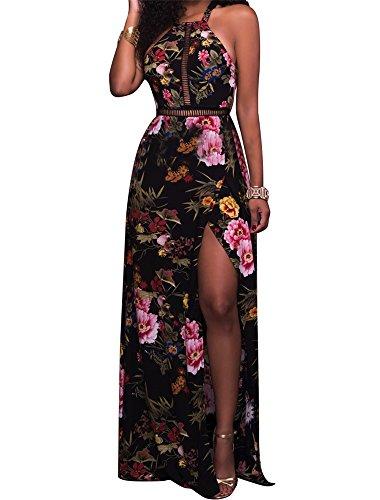 Sexy Women Summer Long Maxi Beach Chiffon Dress - 8