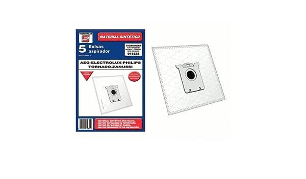 Bolsa sintetica aspirador AEG Ariete Bluesky Daewoo Electrolux 5 UNIDADES 915674: Amazon.es: Bricolaje y herramientas