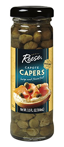 Reese Capote Capers, 3.5-Ounce Jars (Pack of 12)