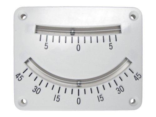 Boat Level - Five Oceans Dual Scale Tilt Gauge Clinometer FO-3037