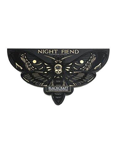 (BlackCraft Night Fiend Eyeshadow Palette HT)