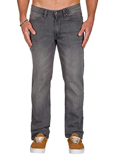 Reell Nova Jeans Fit Ii Grigio Straight Uomo nrS8xnR