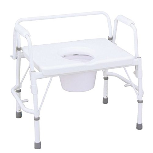 Deluxe All In One Commode - 9
