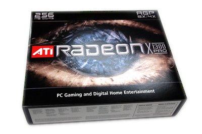 New ATI Radeon X1300 Pro 256MB AGP DVI VGA Graphics Card - Retail