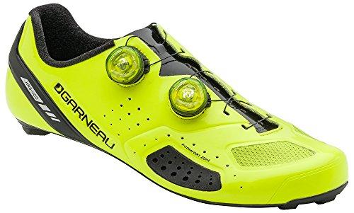 Louis Garneau Men's Course Air Lite 2 Road Bike Cycling Shoes, Bright Yellow, US (12.5), EU (48) (Louis Garneau Ergo Air Pro 2 Road Shoes)