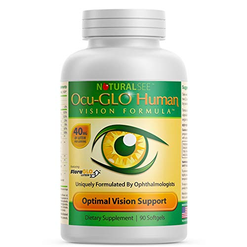 Ocu-GLO Human Vision Formula Eye Health Support Capsules, 90ct