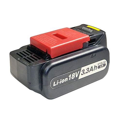 Panasonic EY9L50B Cordless, Battery Powered, Rechargeable 18V 3.3Ah Li-ion Battery Pack