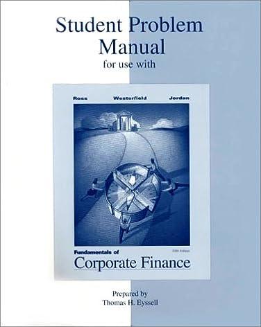 fundamentals to corporate finance student problem manual rh amazon com BLS Student Manual DC LDS Student Manual