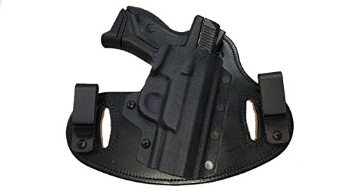 rs, Ruger American Compact, Carry Gun Holster (Black/Black, RH) ()