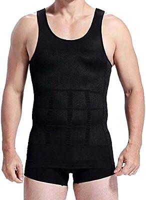 03fc5c7bb2 O-Best Mens Slimming Body Slim N Lift Shaper Belly Buster Underwear Vest  Compression (