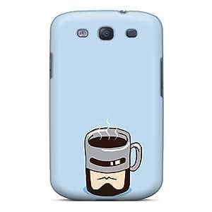 MeSusges Galaxy S3 Well-designed Hard Case Cover Robocop Mask Mug Protector