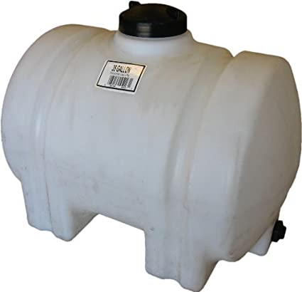 Norwesco 45223 35 Gallon Horizontal Water Tank by Norwesco