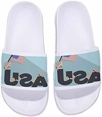 f541486dc80b Eric Carl Men Casual Beach Wear Flip Flops Indoor Floor Slipper Anti-Slip  Bath Slippers