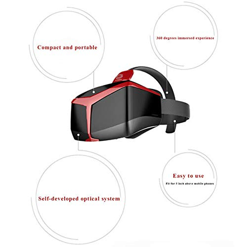 UCVR VIEW Virtual Reality VR 3D 360 Degrees Full View Immersive Gaming Experience Glasses