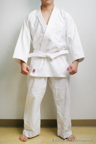 BUTOKU SEIKA Bleached Aikido Uniform Set (2) by BUTOKU