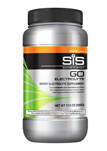 Science in Sport Go Electrolyte Energy Drink Powder | Orange Flavor Sports Performance & Endurance Supplement – 1.25 Pound