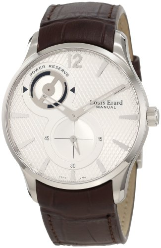 Louis Erard Mens 53209As01 Bdc27 1931 Brown Power Reserve Leather Watch