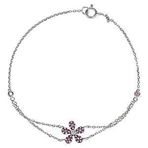 365Love Women's 18k Solid Gold Diamond Bracelet