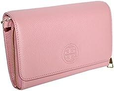 6652ea25e69b UPC 190041922369 Tory Burch Bombe Flat Leather Wallet Crossbody ...