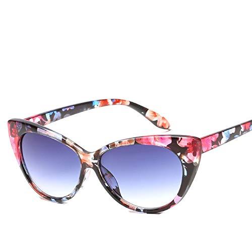 Sexy Cat Eye Sunglasses Women Vintage Cateyes Fashion Glasses,C8