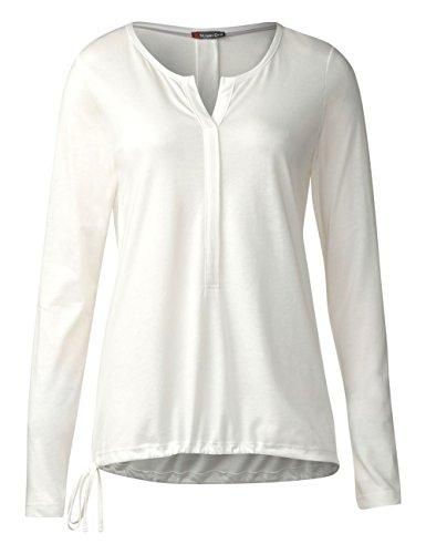 Street One Qr Moni, Camiseta para Mujer Weiß (Off White 10108)