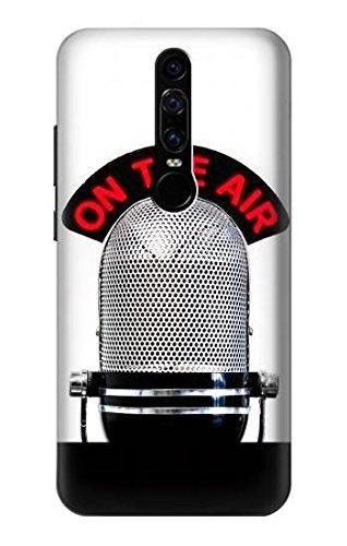 Vintage Radio Microphone On The Air Funda Carcasa Case para ...