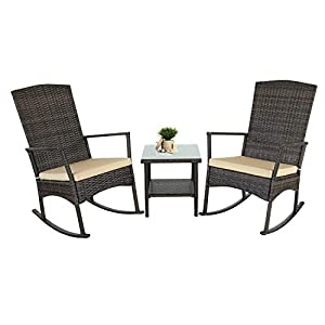 410ZUrI-kTL._SS300_ Wicker Rocking Chairs & Rattan Wicker Chairs
