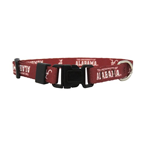 NCAA Alabama Crimson Tide Team Pet Collar, TeaCup