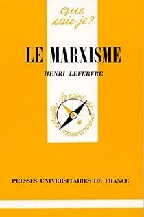 Le Marxisme par Lefebvre