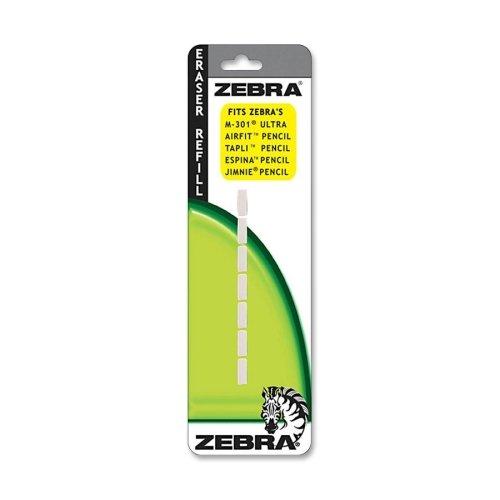 Wholesale CASE of 25 - Zebra Jimnie Mechanical Pencil Eraser Refills-Jimnie Eraser Refill,F/Jimnie Pencil/SK-Sharbo/Espina,7 CT