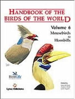 Handbook Of The Birds World Mousebirds To Hornbills V 6