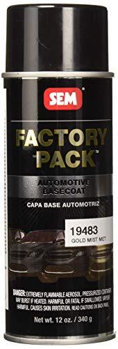 SEM 19483 Gold Mist Metallic Factory Pack Aerosol - 16 - Factory Paint