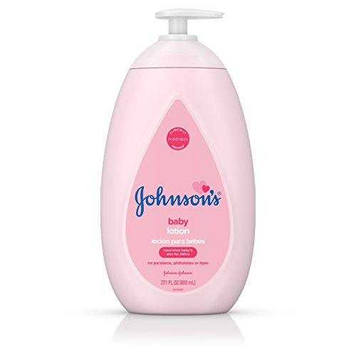 Care Baby Johnsons (Johnson's Moisturizing Baby Lotion with Coconut Oil, Hypoallergenic and Dermatologist-Tested, 27.1 fl. oz)