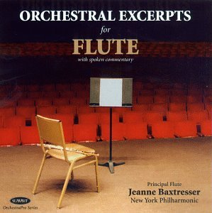 Orchestral Excerpts for Flute by Summit Records