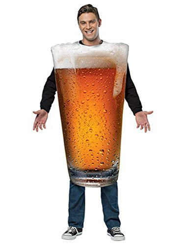 Rasta Imposta Men's Get Real Beer Pint, Gold, One Size]()
