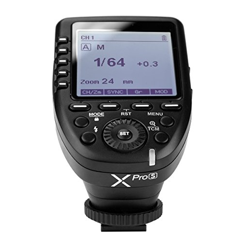 Godox Xpro-S TTL 2.4G Wireless X System Remote Flash Trigger for Sony a77II a77 a99 ILCE-6000L a9 A7R A7RIII a350 DSC-RX10 for Godox TT685S TT350S V860II-S by Godox