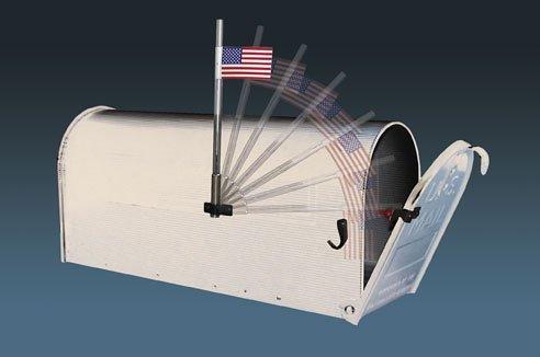 Amazoncom The Yall Got Mail Alert Flag Mailbox Flag Alert