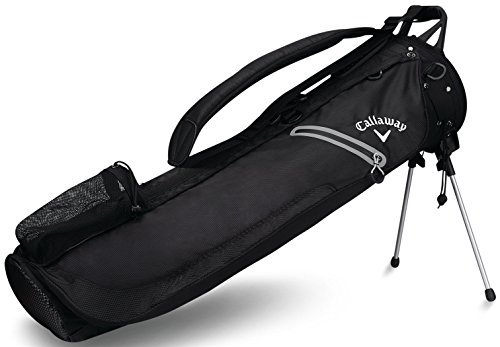 Callaway Golf Hyper Lite 1 Plus Pencil Bag 2017 Hyper-Lite 1 Single Strap Sunday Bag Black