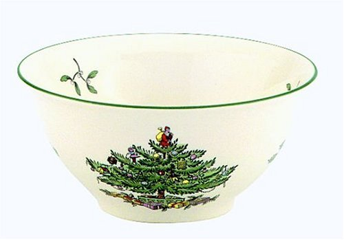 Spode Christmas Tree Nut/Potpourri Bowl